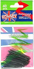 Düfte, Parfümerie und Kosmetik Haarnadeln schwarz 45 mm 40 St. - Ronney Black Hair Pins