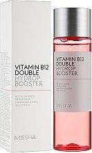 Düfte, Parfümerie und Kosmetik Feuchtigkeitsspendender Gesichtsbooster mit Vitamin B12 - Missha Vitamin B12 Double Hydrop Booster