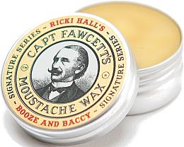 Düfte, Parfümerie und Kosmetik Schnurrbartwachs - Captain Fawcett Ricki Hall Booze & Baccy Moustache Wax
