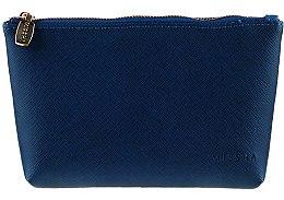 Düfte, Parfümerie und Kosmetik Kosmetiktasche dunkelblau - Missha The Saffiano Multi Pouch II