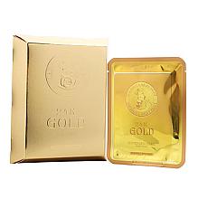 Düfte, Parfümerie und Kosmetik Beruhigende Anti-Falten Tuchmaske für das Gesicht - Elizavecca 24k Gold Water Dew Snail Mask