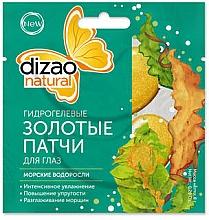 Düfte, Parfümerie und Kosmetik Hydrogel Gold-Patches für die Augen mit Seetang - Dizao