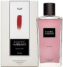 Düfte, Parfümerie und Kosmetik Marc Misaki One Way - Eau de Toilette