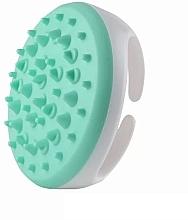 Düfte, Parfümerie und Kosmetik Anti-Cellulite Massagebürste für den Körper aus Silikon weiß-hellblau - Deni Carte