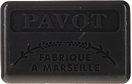 Düfte, Parfümerie und Kosmetik Marseiller Seife Mohn - Foufour Savonnette Marseillaise Pavot