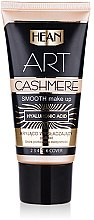 Düfte, Parfümerie und Kosmetik Glättende Foundation mit Hyaluronsäure - Hean Make Up Art Cashmere