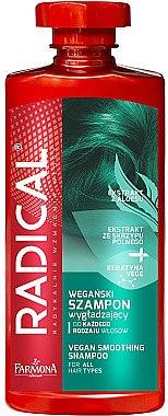 Veganes Glättungsshampoo für alle Haartypen - Farmona Radical Vegan Smoothing Shampoo — Bild N1