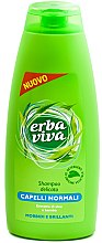Düfte, Parfümerie und Kosmetik Shampoo für normales Haar mit Aloe und Bambus - Erba Viva Shampoo for Normal Hair
