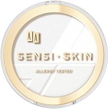 Düfte, Parfümerie und Kosmetik Gesichtspuder - Aa Sensi Skin Puder Prasowany Owsiany Fixing