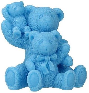 Handgemachte Naturseife Teddybären mit Fruchtduft - LaQ Happy Soaps Natural Soap — Bild N1