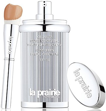 Feuchtigkeitsspendende Foundation gegen müde Haut LSF 30 - La Prairie Cellular Swiss Ice Crystal Transforming Cream SPF 30 — Bild N2