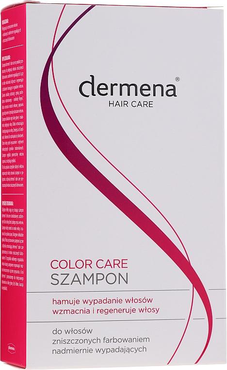 Shampoo für strapaziertes Haar - Dermena Hair Care Color Care Shampoo — Bild N1