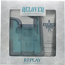 Düfte, Parfümerie und Kosmetik Replay Relover - Duftset (Eau de Toilette 50ml + Duschgel 100ml)