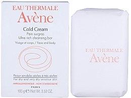 Düfte, Parfümerie und Kosmetik Ultra reichhaltige Seife für Körper und Gesicht mit Cold Cream - Avene Peaux Seches Cold Cream Soap