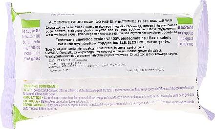 Hypoallergene Intim-Pflegetücher mit Aloe Vera 12 St. - Equilibra Aloe Intimate Wipes — Bild N3