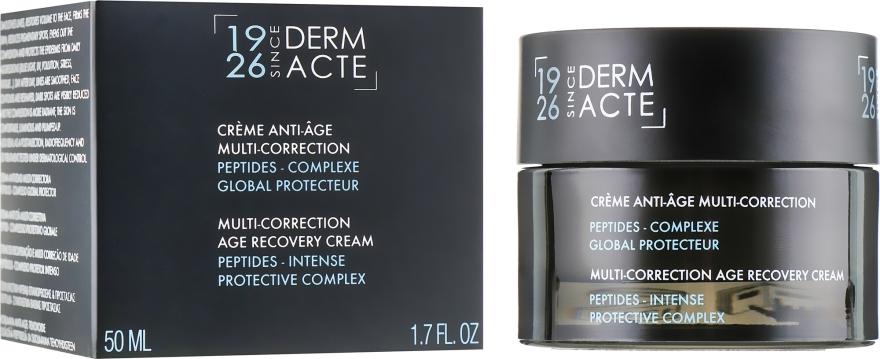 Multi-korrigierende Anti-Aging Gesichtscreme gegen Pigmentflecken mit Peptidkomplexen - Academie Derm Acte Multi-Correction Age Recovery Cream