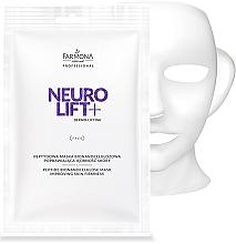 Düfte, Parfümerie und Kosmetik Straffende Gesichtsmaske mit Peptiden - Farmona Professional Neuro Lift+ Peptide Bionanocelulose Mask
