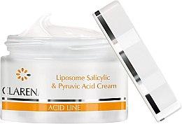 Gesichtscreme mit Salicyl- und Brenztraubensäure - Clarena Liposome Pyruvic Acid Salicylic & Cream — Bild N2