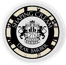 Düfte, Parfümerie und Kosmetik Haargel für alle Haartypen - Dear Barber Shaping Crem (Mini)