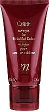 Düfte, Parfümerie und Kosmetik Haarmaske für gefärbtes Haar - Oribe Masque for Beautiful Color (Mini)