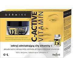 Düfte, Parfümerie und Kosmetik Gesichtspflegeset - Farmona Dermiss (Gesichtscreme 50ml + Vitamin Booster 5x5ml)