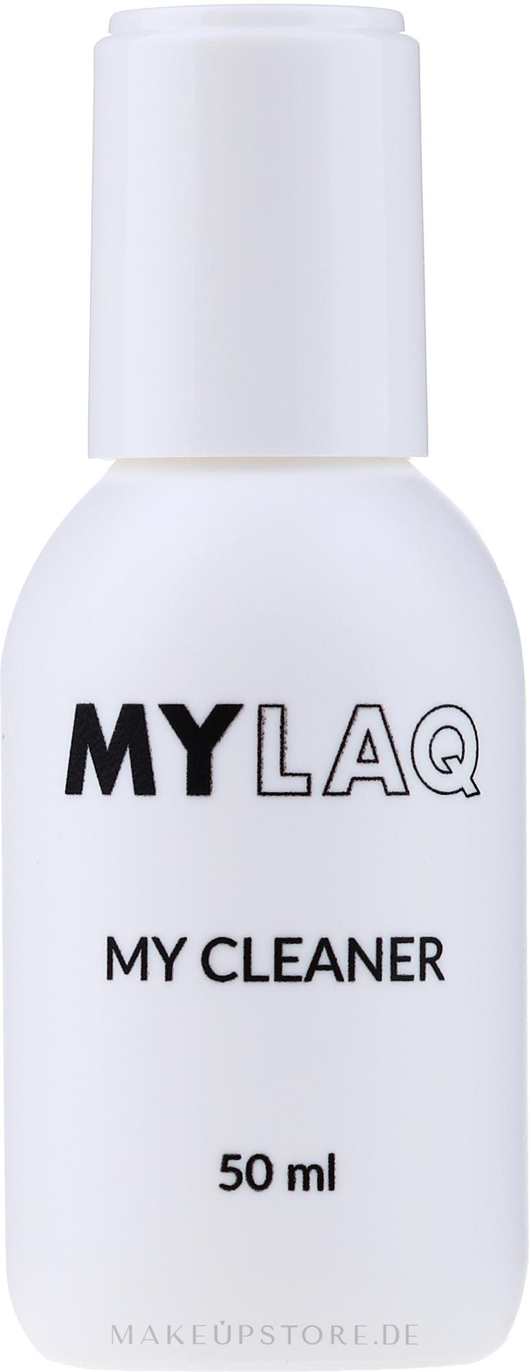 Nagelentfetter - MylaQ My Cleaner — Bild 50 ml