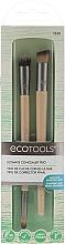 Düfte, Parfümerie und Kosmetik Make-up Pinselset 2 St. - EcoTools Ultimate Concealer Trio