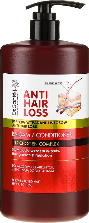 Haarwachstum stimulierende Haarspülung gegen Haarausfall mit Spender - Dr. Sante Anti Hair Loss Balm