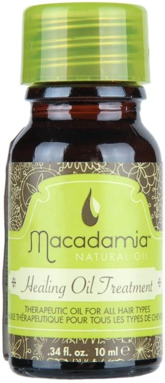 Heilölbehandlung für alle Haartypen mit Argan und Macadamia - Macadamia Natural Oil Healing Oil Treatment (mini) — Bild N1