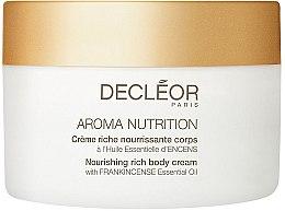Düfte, Parfümerie und Kosmetik Pflegende Körpercreme - Decleor Aroma Nutrition Nutrition Riche body Cream