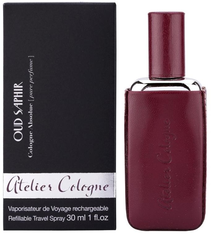 Atelier Cologne Oud Saphir Refillable Travel Spray - Eau de Cologne — Bild N1