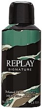 Düfte, Parfümerie und Kosmetik Replay Signature For Men Replay - Deospray