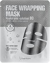 Düfte, Parfümerie und Kosmetik Tuchmaske für das Gesicht mit Hyaluronsäure - Berrisom Face Wrapping Mask Hyaluronic Solution