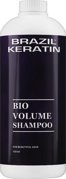 Shampoo mit Keratin für mehr Volumen - Brazil Keratin Bio Volume Shampoo — Bild N3