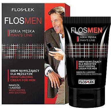 Intensive feuchtigkeitsspendende Gesichtscreme - Floslek Flosmen Moisturizing Cream For Men — Bild N1