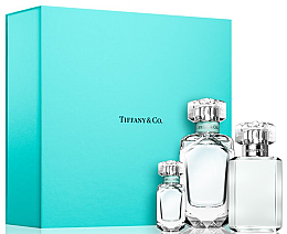 Düfte, Parfümerie und Kosmetik Tiffany Tiffany & Co - Duftset (Eau de Parfum 75ml + Eau de Parfum (mini) 5ml + Duschgel 100ml)