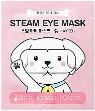 Düfte, Parfümerie und Kosmetik Beruhigende Augenmaske - A'pieu Steam Eye Mask Dog Edition
