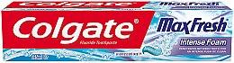 Düfte, Parfümerie und Kosmetik Zahnpasta Max Fresh Intense Foam - Colgate Max Fresh Intense Foam Toothpaste