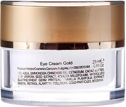 Augenkonturcreme - Hristina Cosmetics Orient Gold Eye Cream — Bild N2