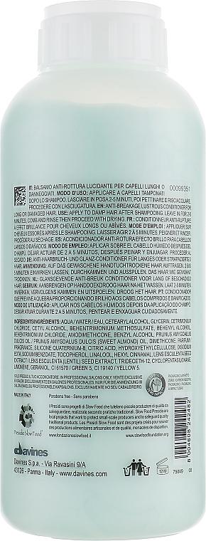 Conditioner für langes und strapaziertes Haar - Davines Melu Conditioner Anti-Rottura Lucidante — Bild N6