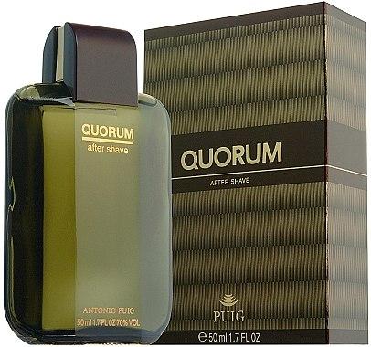 Antonio Puig Quorum - After Shave Lotion — Bild N1