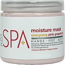 Düfte, Parfümerie und Kosmetik Feuchtigkeitsspendende Maske für Hände, Körper und Füße mit rosa Grapefruit - BCL Spa Energizing Pink Grapefruit Moisture Mask