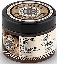 Düfte, Parfümerie und Kosmetik Reichhaltige Haarmaske mit Bio Sheabutter - Planeta Organica Organic Shea Rich Hair Mask