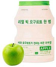 Düfte, Parfümerie und Kosmetik Gesichtsmaske mit Apfel und Joghurtextrakt - A'pieu Real Big Yogurt One Bottle