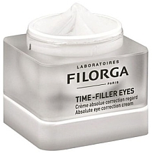 Düfte, Parfümerie und Kosmetik Korrigierende Augenkonturcreme - Filorga Time-Filler Eyes Absolute Eye Correction Cream (Probe)
