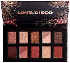 Düfte, Parfümerie und Kosmetik Lidschattenpalette - Nyx Love Lust Disco Shadow Palette
