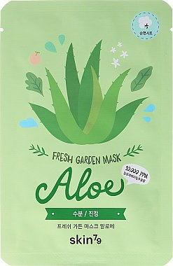 Tuchmaske für das Gesicht mit Aloe - Skin79 Fresh Garden Mask Aloe — Bild N1