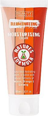 Aufhellende und feuchtigkeitsspendende Gesichtscreme - Beauty Formulas Natures Formula Illuminating Moisturizer Cream — Bild N2