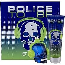 Düfte, Parfümerie und Kosmetik Police To Be Mr Beat - Duftset (Eau de Toilette 40ml + Duschgel 100ml)
