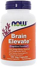 Düfte, Parfümerie und Kosmetik Nahrungsergänzungsmittel Brain Elevate - Now Foods Brain Elevate